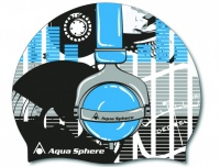 Aqua Sphere Headphones junior cap