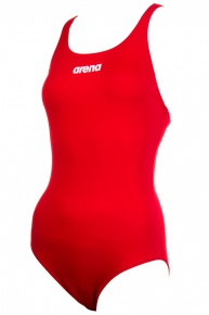 Arena Solid Swim Pro red