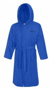 Speedo Bathrobe Microterry Blue