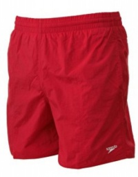 Speedo Solid Leisure 15 Watershort Junior Red