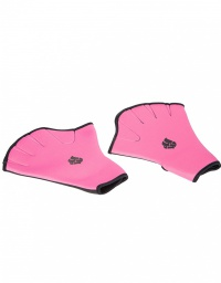 Mad Wave Aquafitness Gloves pink