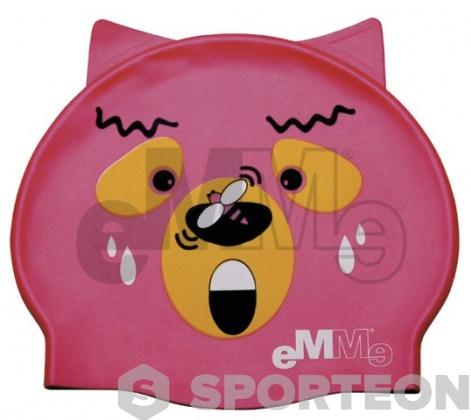 Cuffia nuoto per bambini Emme orso con vespa