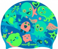 Mad Wave Plankton Swim Cap Junior
