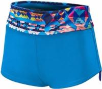 Tyr Women's Boca Chica Active Mini Boyshort Blue