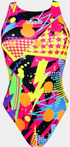 Turbo Pop Party Swimsuit Yellow