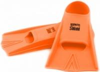 BornToSwim Junior Short Fins Orange