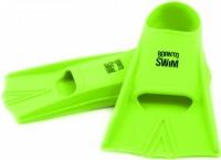 BornToSwim Junior Short Fins Green