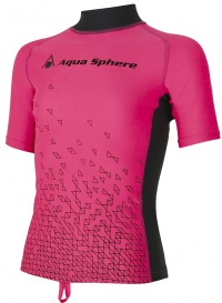 Aqua Sphere Bix Rash Guard Pink/Bright Pink