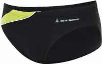 Aqua Sphere Eliott Repreve Slip Black/Bright Green