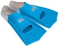 Mad Wave Short Training Fins Blue