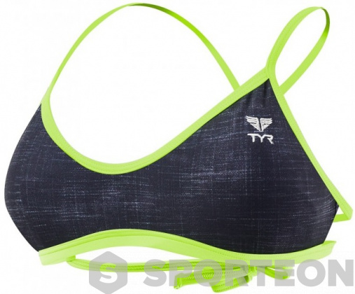 Tyr Sandblasted Mojave Tieback Top Black