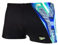 Speedo Digital Panel Aquashort Boy Black/Bright Zest/Venom