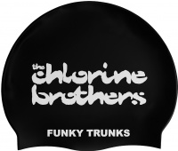 Funky Trunks The Chlorine Brothers Swimming Cap