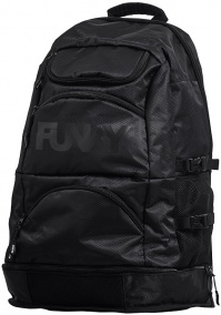 Funky Back to Black Expandable Elite Squad Backpack