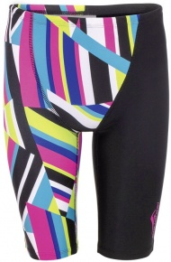 Aquafeel Stripe Confusion Jammer Black/Multi
