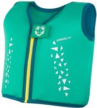 Speedo Croc Float Vest Cosmos/Emerald/Aqua Mint