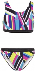 Aquafeel Stripe Confusion Racerback Girls Multi