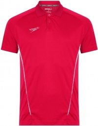 Speedo Dry Polo Shirt Red