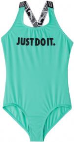 Nike JDI Crossback One Piece Girls Aurora Green